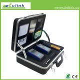Fibra óptica de Sm Deluxe Kit de inspecção e ensaio Lc-6012