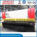 Scherende Ausschnittmaschine der QC11Y-10X2500 NC Steuerhydraulische Guillotine-Stahlplatte