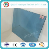 La fábrica de China suministra el vidrio teñido azul de 4-8m m Ford