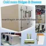 Un cuarto frío frigoríficos y congeladores