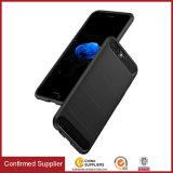 Best-seller universal mais barato de carbono Simplictiy Soft Phone caso para um Plus