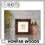 Festes Holz-Schatten-Kasten-Abbildung-Foto-Rahmen für Dekoration