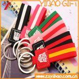 PVC Keychain логоса Customed для подарка промотирования