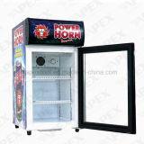 Convinent Shop Beverage Cold Store Counter Top Cooler com Ce, CB, ETL, Meps Certificate