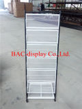 Metal Newspaper Magazine Display Rack / Brochure Display Rack