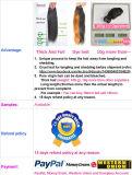 Menschenhaar-Webart-indische Jungfrau-tiefe Wellen-Haar-Extensionen 100%