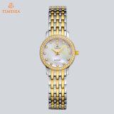 Horloge 71084 van het Kwarts van het Kristal van de Diamant van de Dames van het Roestvrij staal van de Horloges van de manier
