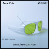 800-1100nm Dir Lb5 Lasersicherheits-Gläser für 808nm, 980nm, 1064nm zahnmedizinische Laser, Dioden, Nd: YAG mit weißem Spant 52