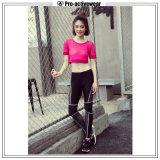 Nouvelle arrivée Nylon Spandex Womens Yoga pantalon serré
