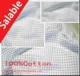 Tela impresa del telar jacquar 100%Cotton para la falda de la camisa de alineada de la ropa