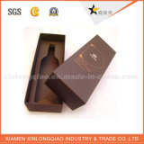 Коробка таможни фабрики упаковывая бумажная для бутылки вина