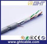 Festes blank Kupfer UTP CAT6 LAN-Kabel-Vernetzungs-Kabel