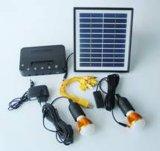 Sistema solare portatile dei nuovi prodotti con il ventilatore del LED 3W 9V & il sistema di illuminazione solari portatili chiari