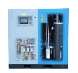 De industriële Compressor van de Luchtkoeling van de Schroef van Fooled van de Olie Roterende Stationaire (KB22-13)