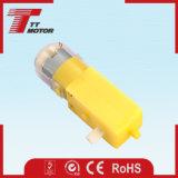 Motor plástico de poca velocidad de las robustezas del engranaje de la C.C. 6V