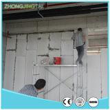 Modanatura del comitato dell'incorniciatura/muro di cemento di parete della scheda bianca