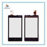 Nokia 마이크로소프트 Lumia를 위한 이동할 수 있는 셀룰라 전화 LCD 접촉 스크린 435의 532의 유리제 수치기 부속