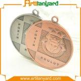 Personalizado chapeando a medalha da cor com a fita