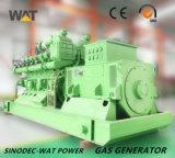 groupe électrogène du gaz 500kw naturel pour la centrale de l'électricité