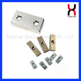 NdFeB magnetischer materieller Block-Magnet-Würfel-Magnet-Vierecks-Magnet