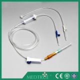 Conjunto de infusão descartável aprovado CE / ISO (MT58001205)