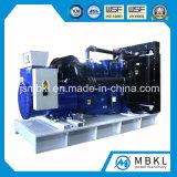 114kw/142kVA раскрывают тепловозный комплект генератора приведенный в действие Perkins Двигателем 1106D-E70tag2