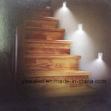 Degré carré DC12V ou 350mA de la lumière 120 de mur de DEL