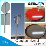 Muestras de calle solares del metal de camino de la seguridad de tráfico del LED para la seguridad