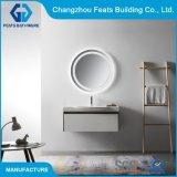 Mobilier blanc multifonction Wall-Hung Salle de bains moderne salle de bains de conception de la vanité chaud avec une profonde lavabo et miroir de LED intelligent (#BC18-1000D-39)