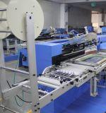 2 Farben-Kleid-Kennsatz-automatische Bildschirm-Drucken-Maschine mit Gehäuse für Verkauf