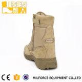 Прочного натуральная кожа Militay коровы велюр пустыни Boot
