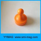 Aimants de Pin de poussée de néodyme de qualité pour le support principal magnétique
