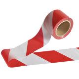 Barrikade-Band-rotes und weißes Vorsicht-Band
