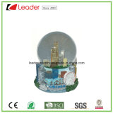 ホーム装飾および記念品のギフトのための構築を用いる手塗りの樹脂水地球