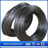 Alambre destemplado negro negro del hierro del negro del alambre del alambre
