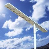 Дешевая солнечная сила 50W все в продуктах одного Dimmable уличного света СИД солнечных