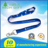 Transferencia del regalo promocional a la sublimación del calor Impresión cuerda de seguridad, cuerda de seguridad de poliéster impresa