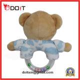 くまの新生のおもちゃの極度の柔らかいプラシ天の赤ん坊のおもちゃ