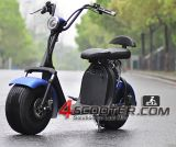 1500W Harley Citycoco Scooterelectricの二重シートの移動性のスクーター