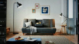 가정 가구 다기능 현대 소파 베드 (커피용 탁자에)