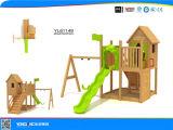 Crianças Casa arborizado parque ao ar livre equipamento (YL61149)