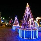 360 lumière de Noël du degré 5050 8mm DEL DEL