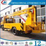 Camion de travail à palette d'antenne vertical de 12 mètres 14 m