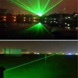8000MW verts imperméabilisent l'éclairage de laser ; Éclairage mobile de laser de tête