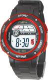 Gli ABS mettono vigilanze di immaginazione di colori del cronografo rotondo svizzero del movimento dell'elastico le varie