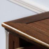 Armário de entrada de madeira de estilo americano para móveis de casa (AS808)