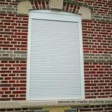De alumínio seguros rolam acima Windows, perfil do obturador