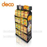 Supermarkt-Ausstellungsstand-Knall-Bildschirmanzeige-Regal-Pappbildschirmanzeige