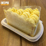 Piatti della torta della polpa con la bagassa non candeggiata della canna da zucchero Biodegaradable 100%
