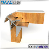 Perfil de la esquina de aluminio/de aluminio de la protuberancia